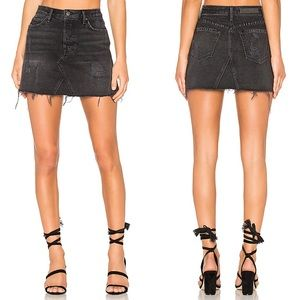 GRLFRND Eva Denim Skirt in Hotel California